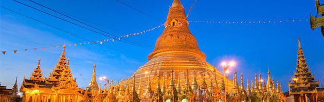 ทัวร์พม่า ย่างกุ้ง ขอพรพระเทพทันใจ ชมพระมหาเจดีย์ชเวดากอง นมัสการพระพุทธไสยาสน์เจาทัตยี