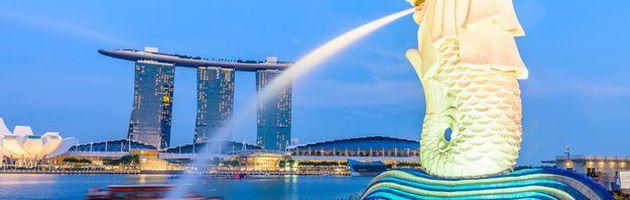 ทัวร์สิงคโปร์ ชมโชว์น้ำพุริมอ่าว Marina เลือกเที่ยวตาม Option