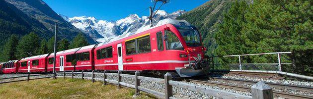 ทัวร์สวิตเซอร์แลนด์ อันเดอร์แมท มงเทรอซ์ กรินเดอร์วาลด์ อินเทอลาเก้น ลูเซิร์น BERNINA EXPRESS